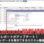 Facebook 広告 レポート