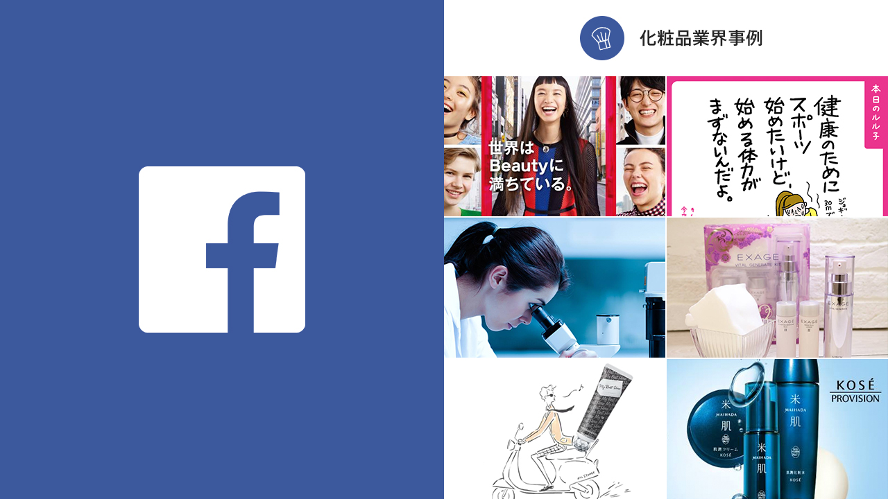 Facebook 化粧品事例