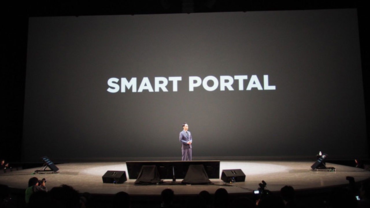 SMART PORTALを掲げるLINE