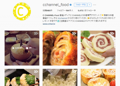 C-channel Food TOP