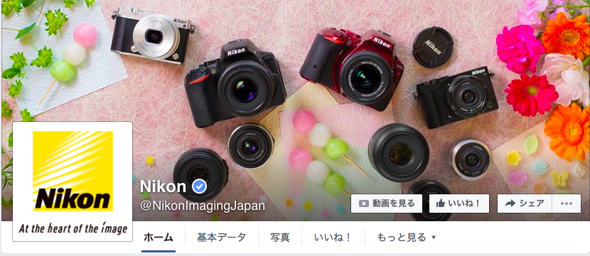 Nikon facebookページ(2016年6月月間データ)